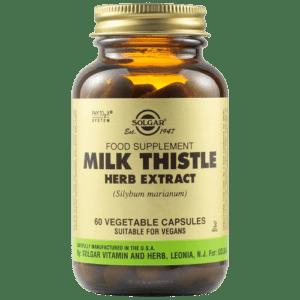 Αντιμετώπιση Solgar – Milk Thistle Herb και Seed Extract για Αποτοξίνωση Vegetable 60 caps
