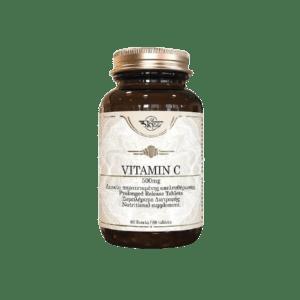 Βιταμίνες Sky Premium Life – Vitamin C 500mg Συμπλήρωμα Διατροφής Βιταμίνης C 60tabs