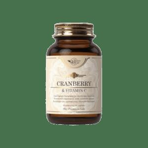 Βιταμίνες Sky Premium Life – Cranberry and Vitamin C Συμπλήρωμα Διατροφής με Κράνμπερι και Βιταμίνη C 60caps