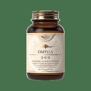 Ωμέγα 3-6-9 Sky Premium Life – Omega 3-6-9 Συμπλήρωμα Διατροφής για τη Διατήρηση Φυσιολογικών Επιπέδων Χοληστερόλης 50 caps
