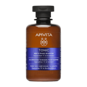 Περιποίηση Μαλλιών-Άνδρας Apivita – Men's Tonic Shampoo Τονωτικό Σαμπουάν για Άνδρες με Hippophae TC & Δενδρολίβανο 75ml
