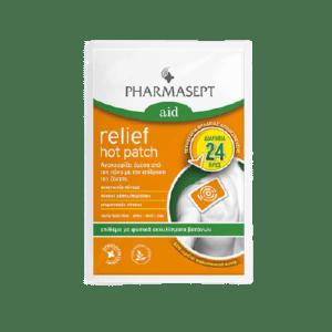 Υγεία-φαρμακείο Pharmasept – Aid Relief Hot Patch Φυσικό Επίθεμα κατά του Πόνου 1τμχ