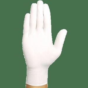 ΑΝΑΛΩΣΙΜΑ ΑΙΣΘΗΤΙΚΗΣ Meditrast – Λευκά Γάντια Βινυλίου Χωρίς Πούδρα 100τμχ