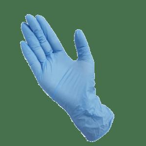 ΑΝΑΛΩΣΙΜΑ ΑΙΣΘΗΤΙΚΗΣ Sritrang Viva Gloves – Μπλέ Γάντια Νιτριλίου Χωρίς Πούδρα 100τμχ