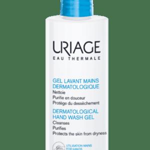 Περιποίηση Σώματος Uriage – Eau Thermal Dermatological Hand Wash Gel Δερματολογικό Gel Καθαρισμού Χεριών Χωρίς Σαπούνι για Ξηρό Δέρμα 250ml