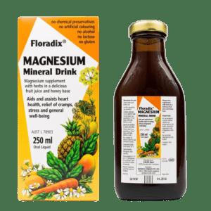 Μέταλλα - Ιχνοστοιχεία PowerHealth – Floradix Συμπλήρωμα Διατροφής με Μαγνήσιο και Εκχυλίσματα Φυτών και Συμπηκνωμένους Χυμούς Φρούτων 250ml