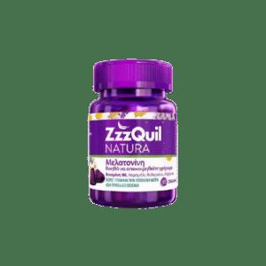 Βιταμίνες ZzzQuil Natura – Melatonin Συμπλήρωμα Διατροφής με Μελατονίνη 30 Zελεδάκια
