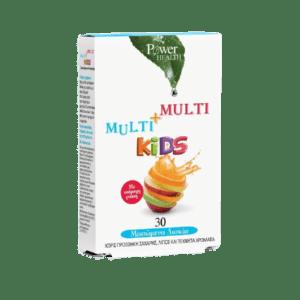 Βιταμίνες PowerHealth – Multi και Multi Kids Πολυβιταμίνη για Παιδιά με Υπέροχη Γεύση 30caps