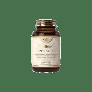Βιταμίνες Sky Premium Life – Zinc και Vitamin C Συμπλήρωμα Διατροφής με Ψευδάργυρο και Βιταμίνη C 60tabs