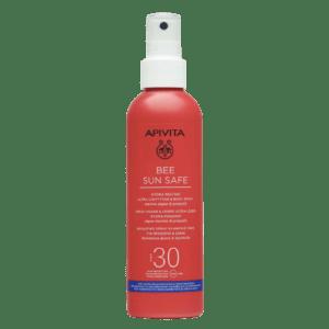 Άνοιξη Apivita – Bee Sun Safe Ενυδατικό Spray Ελαφριάς Υφής για Πρόσωπο και Σώμα με Θαλάσσια Φύκη και Πρόπολη SPF30 200ml