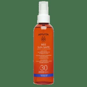 Άνοιξη Apivita – Bee Sun Safe Λάδι Σώματος για Μαύρισμα και Μεταξένια Αίσθηση με Ηλίανθο και Καρότο (Μη Λιπαρή Υφή) SPF30 200ml