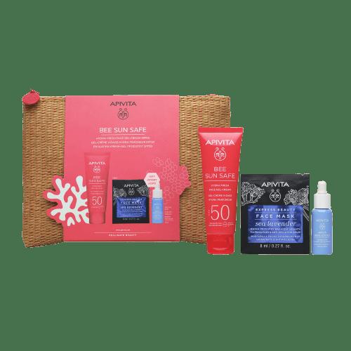 Άνοιξη Apivita – Promo Bee Sun Safe Hydra Fresh Face Gel-Cream Ενυδατική Κρέμα-Gel Προσώπου SPF50 1τμχ
