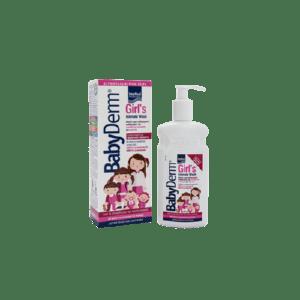 Διάφορα Intermed – Babyderm Girl's Intimate Wash Απαλό Υγρό Καθημερινού Καθαρισμού της Ευαίσθητης Περιοχής για Κορίτσια 300ml