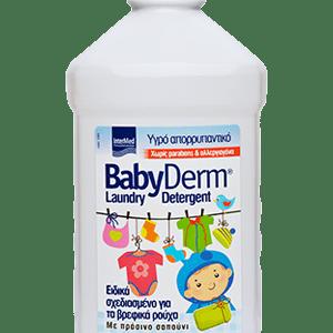 Απορρυπαντικά Intermed – Babyderm Laundry Detergent Υγρό Απορρυπαντικό Ειδικά Σχεδιασμένο για Παιδιά Χωρίς Αλλεργιογόνα 1,4L