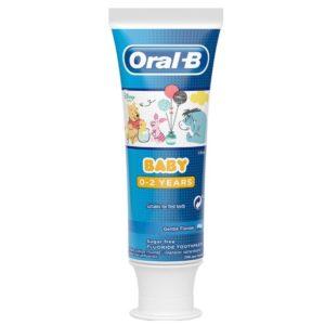 Οδοντόκρεμες-ph Oral-B – Baby Disney Winnie The Pooh Βρεφική Οδοντόκρεμα 0-2 ετών 75ml
