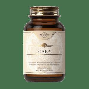 Βιταμίνες Sky Premium Life – Gaba Συμπλήρωμα Διατροφής με Αμινοξύ Gaba Μαγνήσιο και Βιταμίνη Β6 60tabs