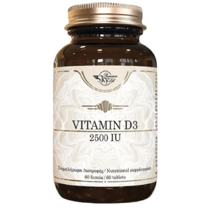 Βιταμίνες Sky Premium Life – Vitamin D3 Συμπλήρωμα Διατροφής Βιταμίνης D3 2500IU 60tab