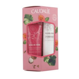 Σετ & Ειδικές Προσφορές Caudalie – Promo Rose Des Vignes με Hand and Nail Cream Ενυδατική Κρέμα Χεριών και Νυχιών 30ml και Lip Conditioner Ενυδάτωση των Χειλιών 4,5gr