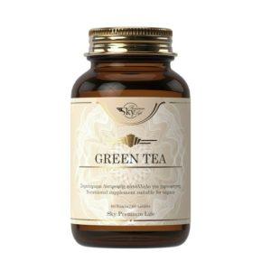 Τσαΐ Sky Premium Life – Green Tea 390mg Συμπλήρωμα Διατροφής με Καθαρό Εκχύλισμα Πράσινου Τσαγιού 60tabs