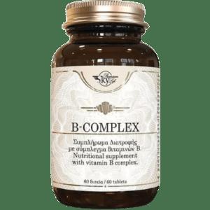 Βιταμίνες Sky Premium Life – B Complex Συμπλήρωμα Διατροφής με Σύμπλεγμα Βιταμινών Β 60tabs