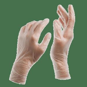 ΑΝΑΛΩΣΙΜΑ ΑΙΣΘΗΤΙΚΗΣ Meditrast – Εξεταστικά Γάντια Βινυλίου Χωρίς Πούδρα 100τμχ
