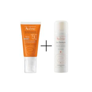 Γυναίκα Avene – Solaire Anti-age Dry Touch SPF50+ Αντηλιακή Αντιγηραντική Κρέμα Προσώπου 50ml & Δώρο Ιαματικό Νερό Spray 50ml