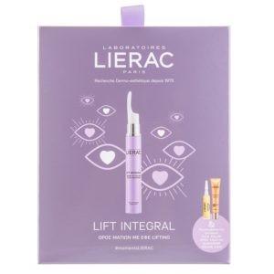 Ορός (Serum) Lierac – Promo Lift Integral Eye Lift Serum Ορός Ματιών 15ml & Cica-Filler Ορός Αποκατάστασης κατά των Ρυτίδων 10ml & Sunissime Λεπτόρρευστη Κρέμα Προστασίας SPF50+ 10ml