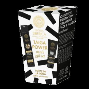 Περιποίηση Μαλλιών-Άνδρας Natura Siberica – Taiga Power men's gift set Ανδρικό σετ 2 σε 1 Σαμπουάν για το σώμα και τα μαλλιά 250 ml + Κρέμα προστασίας εξωτερικού χώρου για πρόσωπο και χέρια 75ml