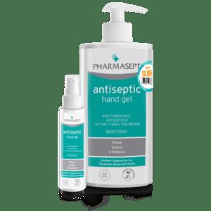=> STOP COVID-19 Pharmasept – Promo Antiseptic Hand Gel Αντισηπτικό για τα Χέρια 1lt και Δώρο Antiseptic Hand Gel Αντισηπτικό για τα Χέρια 100ml