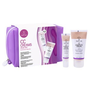 Προσφορές Ημέρας Youth Lab – CC Creams Value Set Complete Cream SPF30 & Complete Cream for Eyes Μικτή Λιπαρή Επιδερμιδα