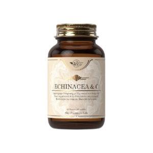 Βότανα Sky Premium Life – Echinacea και Vitamin C 500mg για Τόνωση και Ενέργεια του Οργανισμού 60 tabs