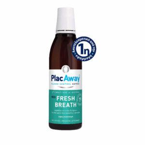 Στοματική Υγιεινή-ph Plac Away – Fresh Breath Στοματικό Διάλυμα Για Δροσερή Αναπνοή 250ml