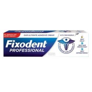Στοματική Υγιεινή-ph Fixodent – Professional Στερεωτική Κρέμα για Tεχνητές Oδοντοστοιχίες 40gr