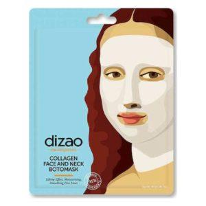 Γυναίκα Dizao – Masterpieces Boto Μάσκα Κολλαγόνου για Πρόσωπο & Λαιμό 30g 1τμχ