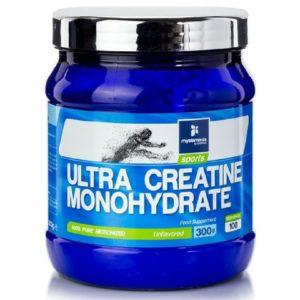 Άθληση - Κακώσεις MyElements – Ultra Creatine Monohydrate Υψηλής Ισχύος Μικροϊονισμένη Μονοϋδρική Κρεατίνη 100% καθαρή 300gr