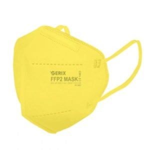 => STOP COVID-19 Serix – Μάσκα Προστασίας 5 Επιπέδων FFP2 KN95 Κίτρινο 1τμχ