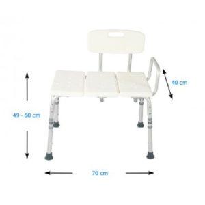 Καθίσματα Μπάνιου Alfacare – Κάθισμα Μεταφοράς Στη Μπανιέρα AC-383