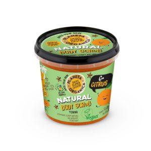 Γυναίκα Planeta Organica – Skin Super Good Φυσικό Απολεπιστικό σώματος «C+ Citrus» για τόνωση 360 ml