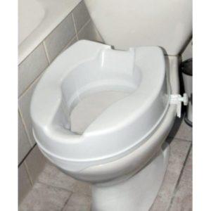 Καθίσματα Μπάνιου Alfacare – Ανυψωτικό Τουαλέτας Με Πλαϊνούς Σφιγκτήρες 15cm AC-532Β
