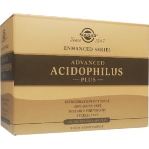 Αντιμετώπιση Solgar – Advanced Acidophilus Plus Φόρμουλα Για Την Διατήρηση Της Φυσιολογικής Λειτουργίας Του Εντέρου 120 Κάψουλες