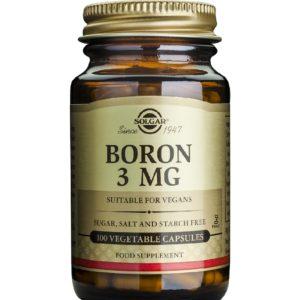 Γυναίκα Solgar – Boron 3mg Σκεύασμα Βορίου Χρήσιμο Σε Οστεοπόρωση & Εμμηνόπαυση 100 Κάψουλες