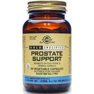 Άνδρας Solgar – Gold Specifics Prostate Support Συμπλήρωμα Διατροφής για την Καλή Λειτουργία του Προστάτη 60 Κάψουλες