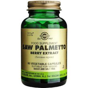 Άνδρας Solgar – Saw Palmetto Berry Extract για την Υγεία του προστάτη 60 Κάψουλες