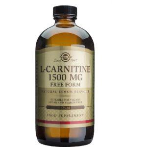 Δίαιτα - Έλεγχος Βάρους Solgar – L-Carnitine Liquid 1500mg Ενέργεια & Ενίσχυση του Μεταβολισμού 473ml