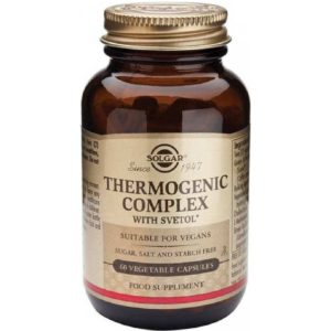 Δίαιτα - Έλεγχος Βάρους Solgar – Thermogenic Complex Ρυθμίζει τον Μεταβολισμό και Βοηθάει στον Έλεγχο του Βάρους 60 κάψουλες
