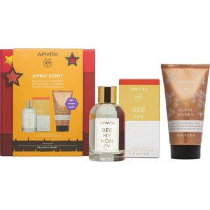 Daily Offers Apivita – Promo Sweet Scent Bee My Honey Eau de Toilette 100ml & Royal Honey Rich Body Cream 150ml