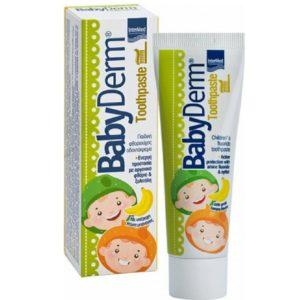 Οδοντόκρεμες-ph Intermed – Babyderm Toothpaste με Γεύση Μπανάνα 50ml